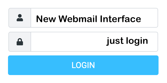 New Webmail Login